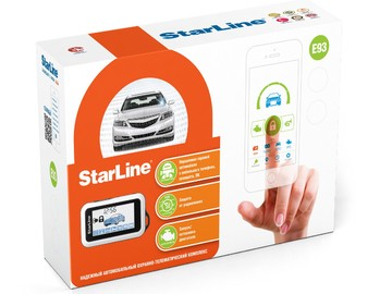 StarLine E93 2CAN+2LIN GSM